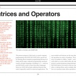Matrices and Operators